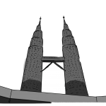 KLCC Clipart PNG