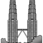 KLCC Clipart Transparent Background