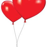 Love Balloon Clipart
