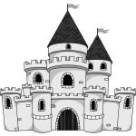 Old Castle Clipart 2