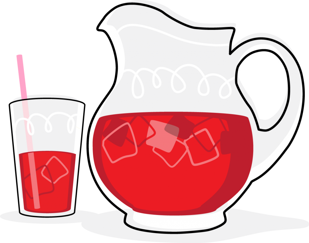 Syrup Drinks Clipart