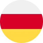ossetia flag icon