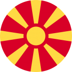 republic of macedonia flag icon