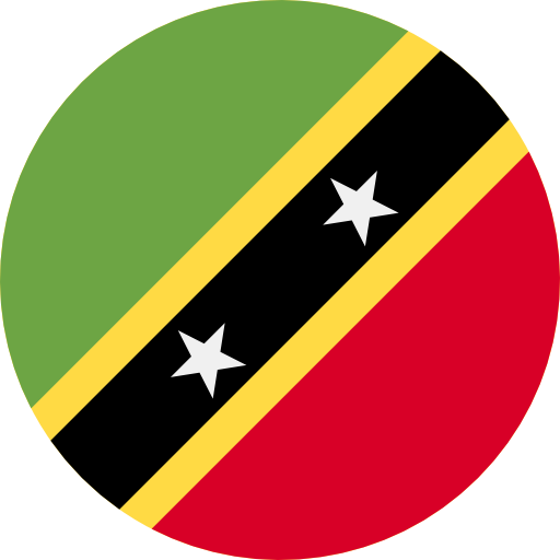 saint kitts and nevis flag icon
