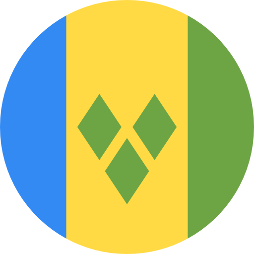 st vincent and the grenadines flag icon