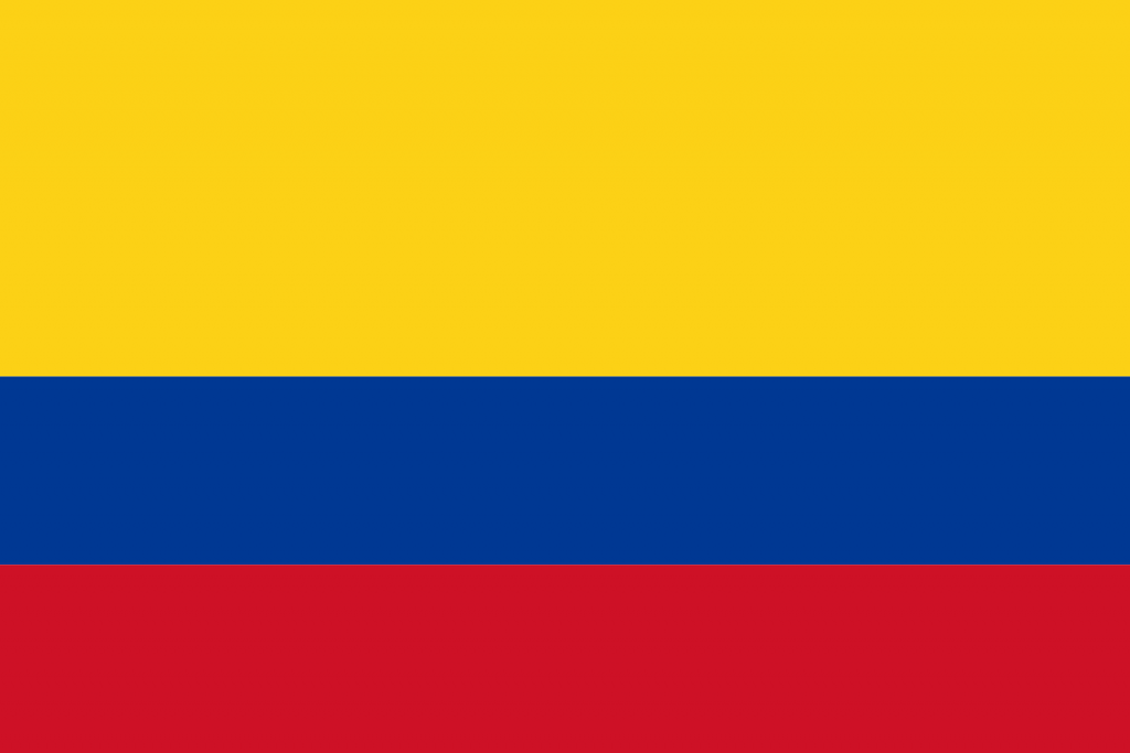COLOMBIA FLAG PNG HIGH RES IMAGES