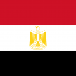 EGYPT Flag PNG High Resolution
