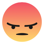 Icons angry computer facebook anger emoji