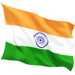 India Flag Transparent PNG