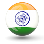 India Flag Transparent PNG Circle Icon