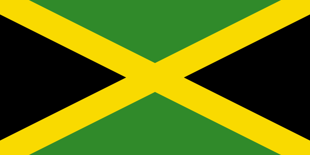 JAMAICA FLAG PNG HIGH RES IMAGES