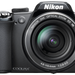 Nikon Coolpix photo camera png image