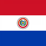 PARAGUAY Flag PNG High Resolution