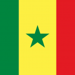 SENEGAL FLAG HD PNG