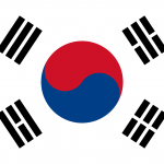 SOUTH KOREA Flag PNG High Resolution