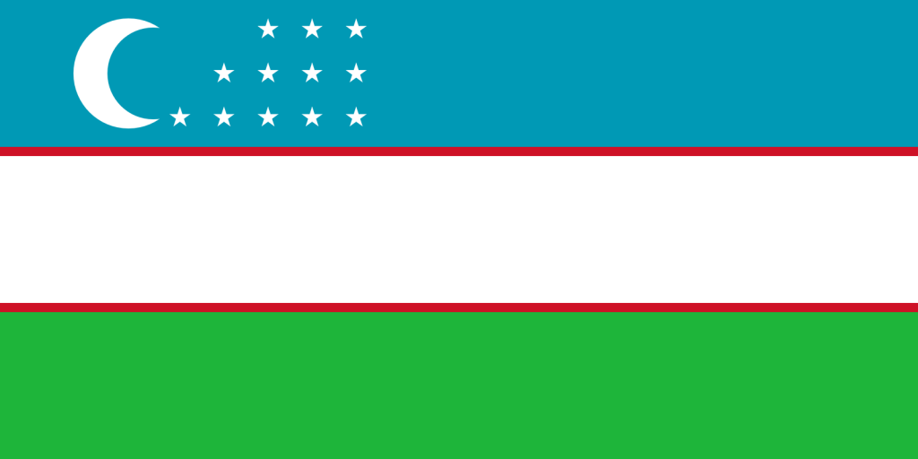 UZBEKISTAN FLAG PNG HIGH RES IMAGES