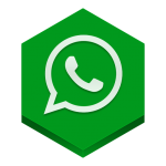 Whatsapp logo icon vector PNG 5
