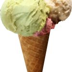 ice cream cone sundae png images